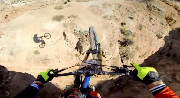 bike canyon jump gopro