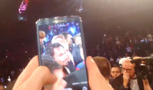 This Random Boston Dude Snuck into the Ring After the Pacquiao-Rios Fight in China (Video)