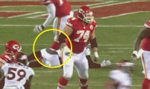 Watch Branden Albert's Knee Bend the Wrong Way (GIF)