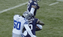 Bears Receiver Brandon Marshall Obliterated Cowboys Linebacker Sean Lee Last Night (GIFs)