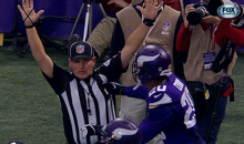 Vikings Cornerback Chris Cook Ejected for Getting Fresh with an Official (GIFs)
