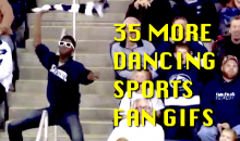 35 More Dancing Sports Fan GIFs