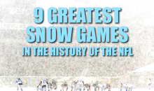 9 Greatest Snow Games in the History of the NFL