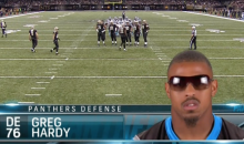 Who Knew Panthers Defensive End Greg Hardy Played College Ball at Hogwarts? (Video)