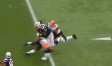 Here's the Hit that Obliterated Gronk's Knee—and Possibly the Patriots' Season (GIF)