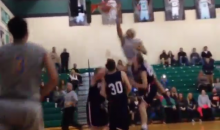 This Double-Alley-Oop Slam Dunk Is Pretty Good I Guess—For High School Kids (Video)