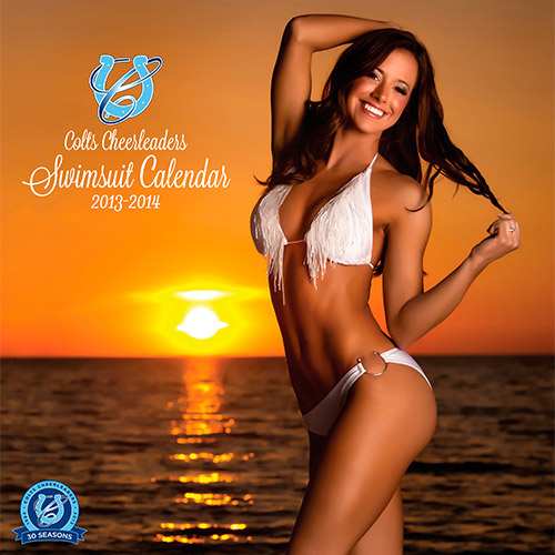 indianapolis colts cheerleaders swimsuit calendar - nfl cheerleaders calendars 2014