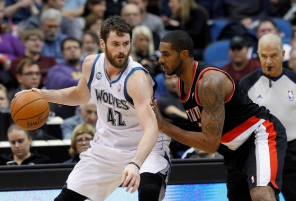 kevin love vs blazers