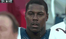 When Knowshon Moreno Cries You'd Better Grab Your Umbrella (GIF)
