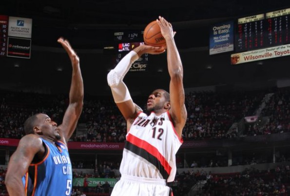 lamarcus aldridge vs thunder