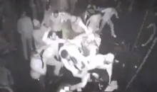 Here's Video of the Bucks' Larry Sanders Attacking People with a Bottle at a Night Club (Video)