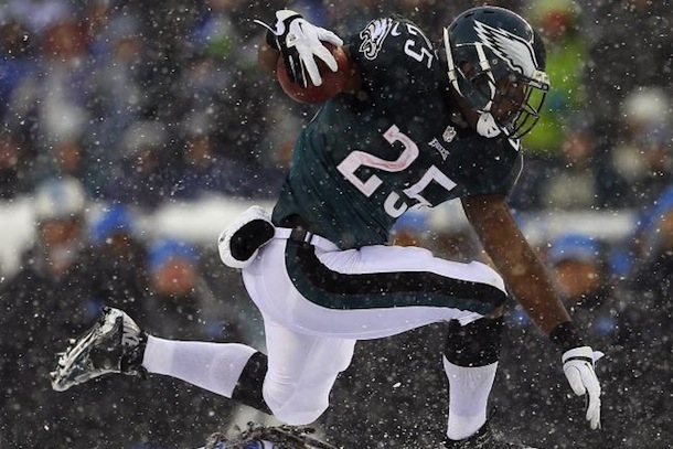 lesean mccoy snow game