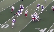 One Punt Return, Three Insane Bone-Crushing Blocks (Video)