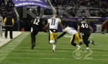 Mike Tomlin Ruling Coming Soon, and This Footage of Him Stepping Toward the Field Won't Help His Cause (GIF)