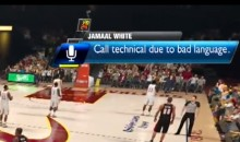 Swearing While Playing NBA 2K14 Will Earn You a Technical Foul (Video)
