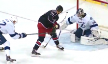 Nick Foligno Pulls a Tomas Hertl, Scores a Between-the-Legs Beauty (Video)