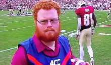 Red Lightning, the FSU Ball Boy, Has His Own Highlight Reel (Video)