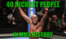 40 Richest People in MMA History