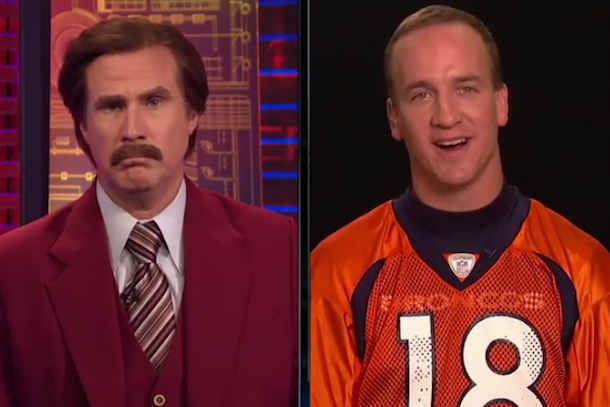 ron burgundy interviewing peyton manning