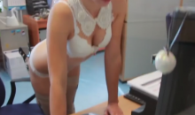 Russian Hockey Team Hires Women in Lingerie to Work Their Ticket Window (Video)