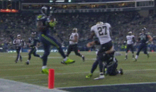Seahawks' Derrick Coleman Scored a Touchdown on the Luckiest of Bounces Last Night (GIF)