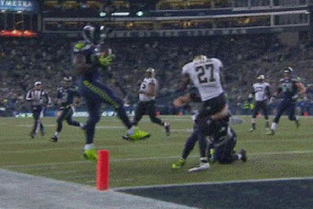 seahawks derrick coleman pinball touchdown