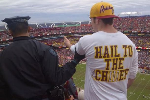 skins fan thrown down stairs