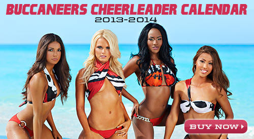 tampa bay buccaneers cheerleaders calendar - nfl cheerleaders calendars 2014