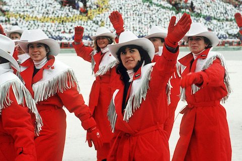 1-canada-opening-ceremony-uniform-1988-crazy-olympic-outfits