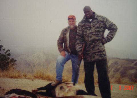 1 shaq hunting - athletes who are hunters