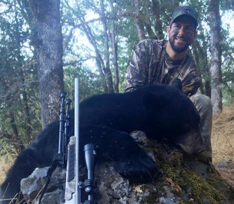 10 brad miller bear hunter - athletes who are hunters