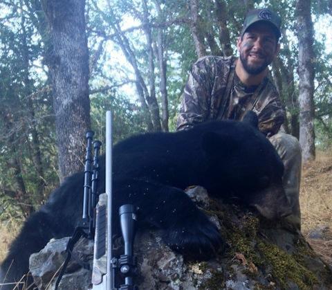 10 brad miller bear hunter - athletes who are hunters