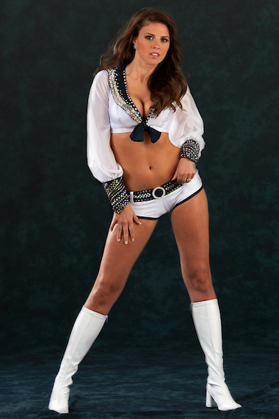 11 Stephanie - Seattle Sea Gals (Seahawks Cheerleaders) - Hottest Super Bowl XLVIII Cheerleaders