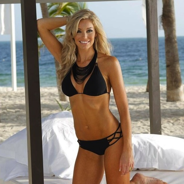 14 Candace - Denver Broncos Cheerleaders - Hottest Super Bowl XLVIII Cheerleaders