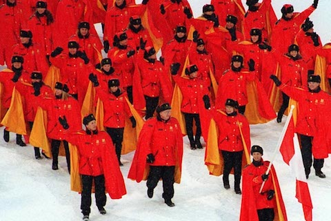 15-canada-opening-ceremony-uniform-1994-crazy-olympic-outfits