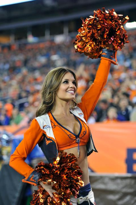2 Toni D - Denver Broncos Cheerleaders - Hottest Super Bowl XLVIII Cheerleaders