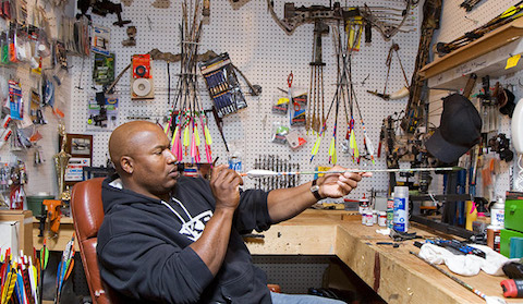 2 bo jackson hunting room - athletes who are hunters