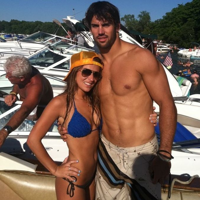 2 jessie james (eric decker) - super bowl xlviii wags