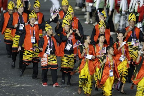 2 malaysia 2012 opening ceremony outfits - crazy olympic outfits