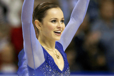 2 sasha cohen - hottest olympic figure skaters all-time