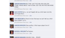 NFL Quarterbacks Conversation on Facebook: In The Year 2040