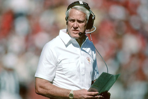 3 bill walsh - winningest nfl playoff coaches
