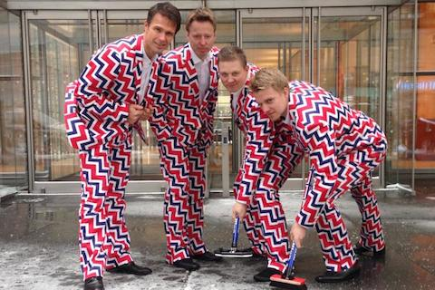 3 norway curling team uniforms 2014 - crazy olympic outfits