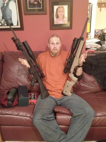 4 chris kaman hunting guns - athletes who are hunters