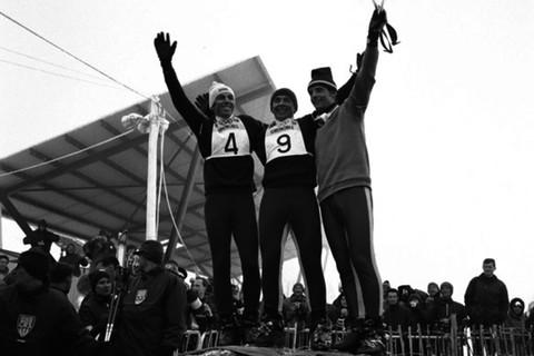 4 herbert huber, karl schranz, jean-claude killy 1968 winter olympics - winter olympcs scandals and controversies