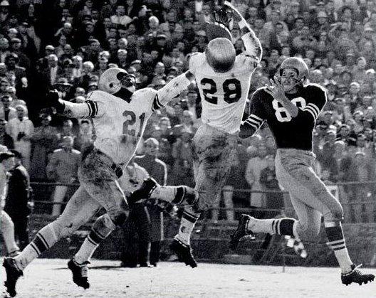 4 lions 49ers 1957 comeback
