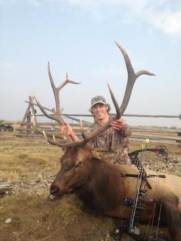 5 david booth elk - athletes who are hunters