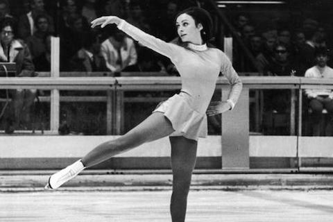 5 peggy flemming - hottest olympic figure skaters all-time