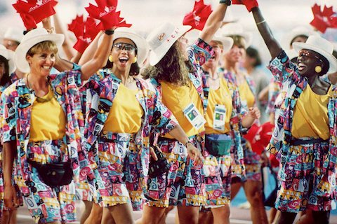 6-canada-opening-ceremony-barcelona-1992-crazy-olympic-outfits