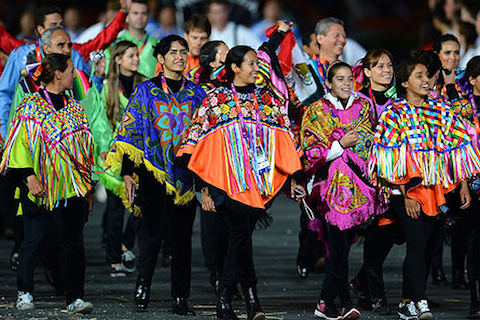 8 mexico opening ceremony outfit 2012 - crazy olympic outfits